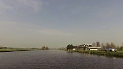Picture from track From Leiden to Haarlem, road on the boat