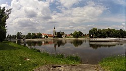 Picture from track From Poděbrady around lakes and sand dunes and back to Podebrady