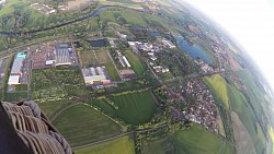 Picture from track Balloon flight around Hradec Kralove with Hembalón company