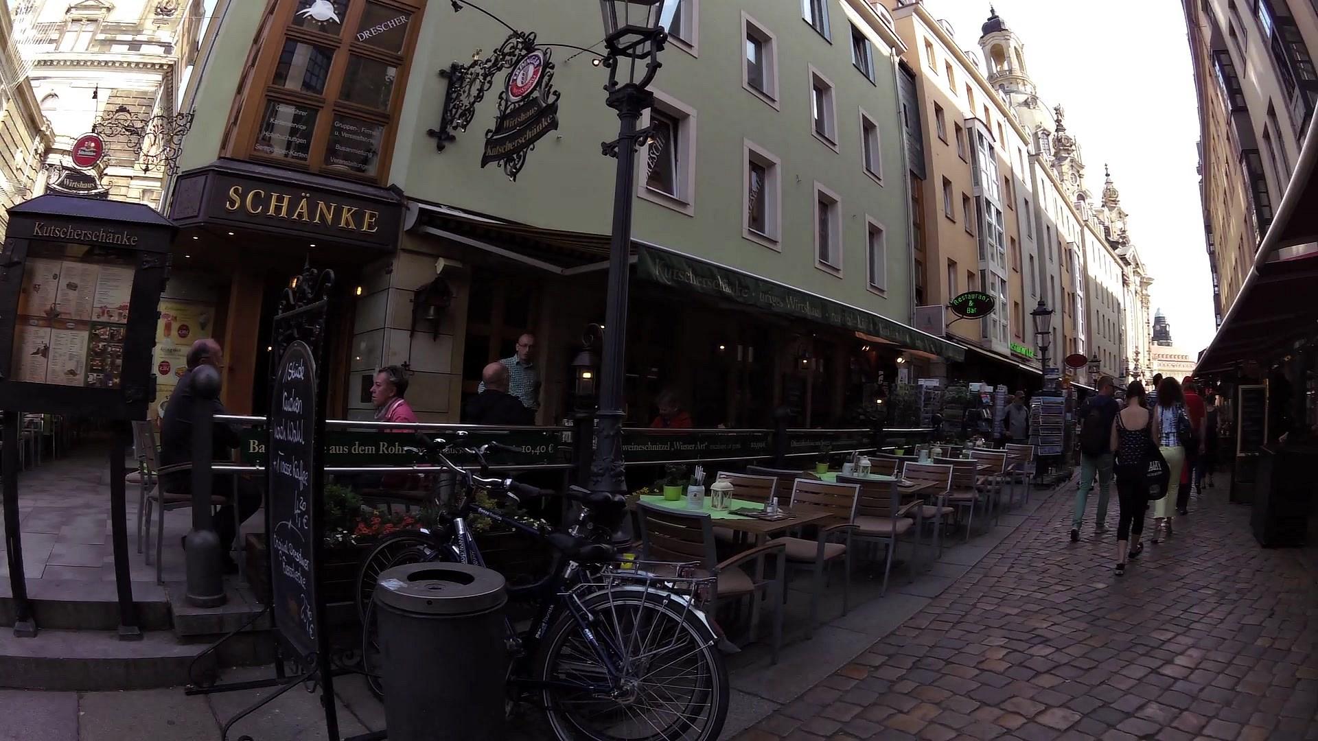 Spaziergang durch Dresdner Altstadt - Videostrecke - Livetouring.com