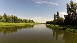 Picture from track A boat trip on Arnost of Pardubice, from Pardubice to Kunětice